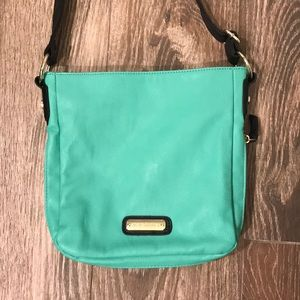 Steve Madden teal cross body bag
